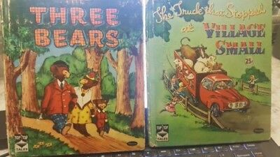 LOT of 2 VINTAGE CHILDREN'S BOOKS  LITTLE GOLDEN BOOK TOP TOP TALES