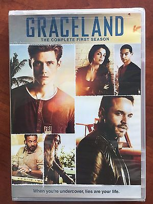 Graceland Season 1 NEW 3-DISC DVD SET Free Ship