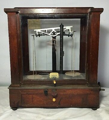 Antique  1920's Christian Becker Chainomatic Balance Scale