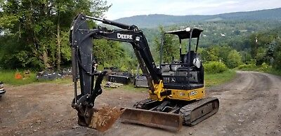 2012 Deere 35D Excavator Low Hours Hydraulic Thumb Ready To Work! Finance!