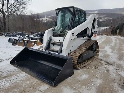 2010 Bobcat T320 Track Skid Steer Fully Loaded High Flow Steel Tracks Very Nice!