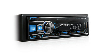 Alpine UTE-62EBT  Digital Media Receiver with Bluetooth/USB and iPod/iPhone/App
