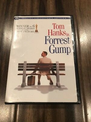 Forrest Gump Special Collector's Edition Two Disc Set Good Condition