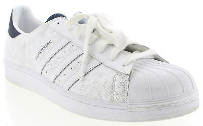Men's ADIDAS White Leather Casual Shoes Size 14