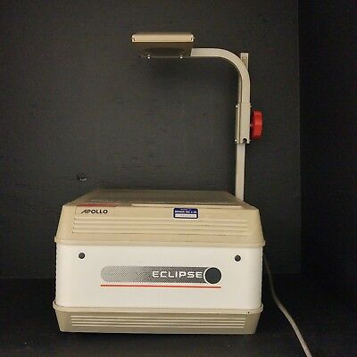 """Apollo AI - 2000 10 x 10"""" Stage Overhead Projector Used Working"""