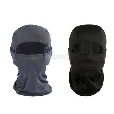 Useful Balaclava Tactical Motorcycle Cycling Outdoor Full Face Mask Helmet AU~