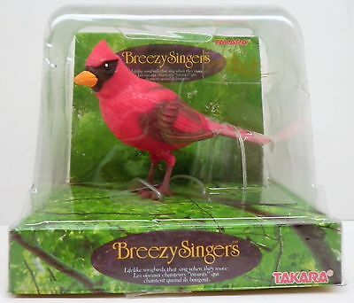 Takara Breezy Singers Cardinal  Item # H-1074 Opened Never Used   Dated 1991