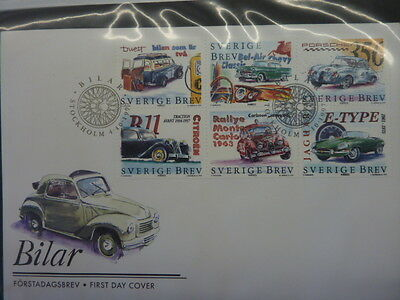 1997 Sweden FDC's collection stamp issue