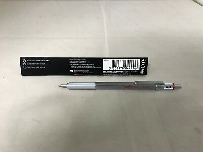 rOtring 600 Mechanical Pencil, 0.7 mm, Silver Barrel