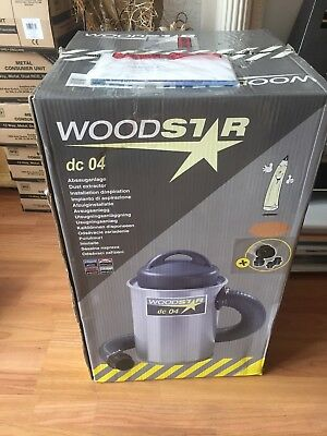 Wood Stat 04 Dust Extractor  Sawdust Removal Power Tool for Saws/Sanders
