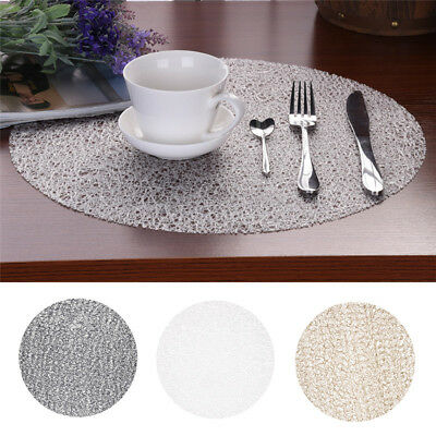 Round Insulation Bowl Tableware Placemats Place Mats Table Coasters Dining Room