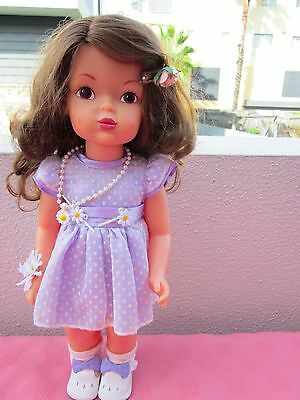 Terri Lee Doll,beautiful Doll W/ Nice Hair& Dimples,wearing Nice Outfit&shoes