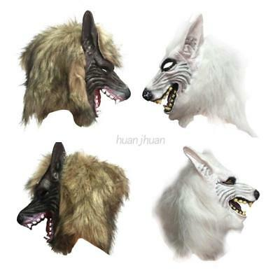 AU Halloween Wolf Head Mask Animal Costume Party Prop Masquerade Cosplay Toys