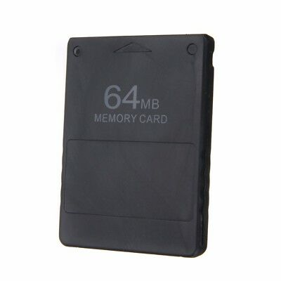 Durable 64MB Memory Card Stick For Sony PlayStation 2 PS2 Slim Accessories Black
