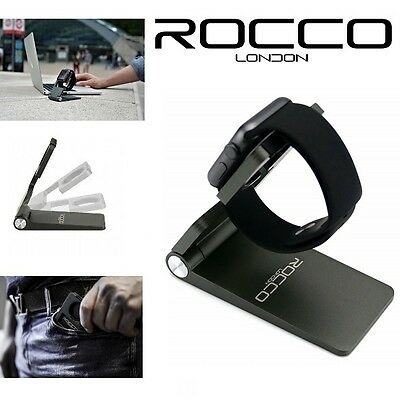 Rocco Folding Aluminium Charging Dock Stand Station Holder - Apple Watch iWatch