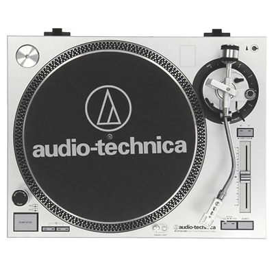 Audio Technica AT-LP-120USB Direct Drive Turntable w/ USB Audio - Silver