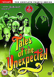 Tales Of The Unexpected - Series 4 - Complete    New    3-Disc Set    Fast  Post