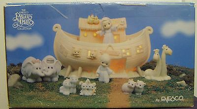 """1992 PRECIOUS MOMENTS NOAH'S ARK """"TWO BY TWO"""" COMPLETE SET w/box"""