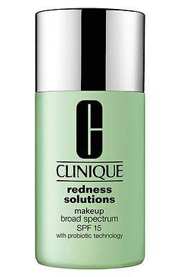 Clinique Redness Solutions Makeup 30ml -  01 Calming Alabaster -  New