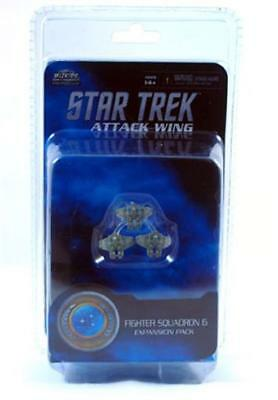 STAW, Star Trek Attack Wing, Fighter Squadron 6, Federation, Heroclix