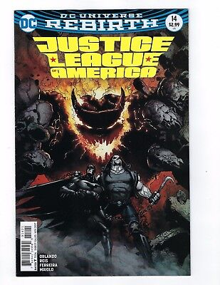 Justice League of America # 14 Variant Cover NM