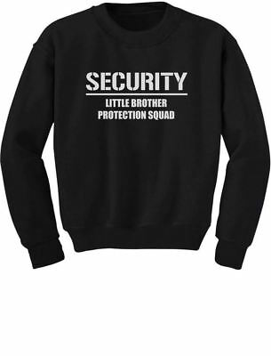 Big Brother - Security For My Little Brother Toddler/Kids Sweatshirt Gift for