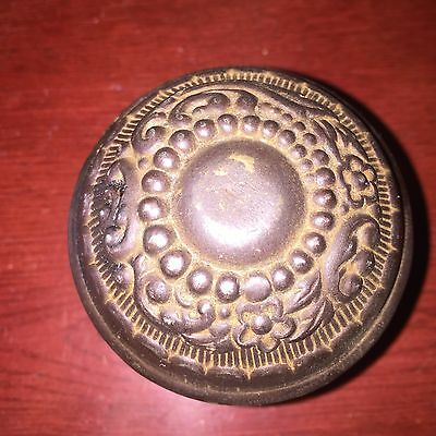 Antique  Metal Door Knob Hardware Salvaged Rustic
