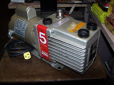 Edwards 5 Rotary Vane High Vacuum Pump Model E2M5  1/2 Hp 1725 Rpm