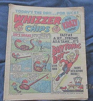 Whizzer & Chips Comic  Date 27th May 1978