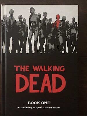 Walking Dead Book One 1 Hardcover Hardback Image Comics