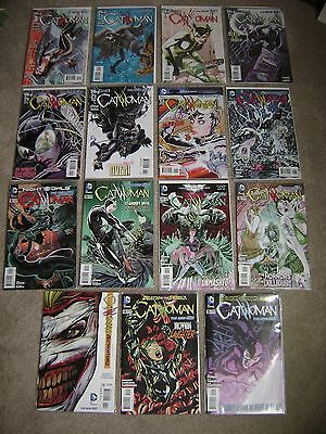 Catwoman The New 52 Lot Of 16 Dc Comics 2011 2012 2013 Run Nm To Vf/nm