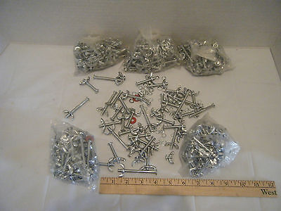 Lot of 6 Bags 6 mm Bolts Wing Nuts Washers Millimeter Model