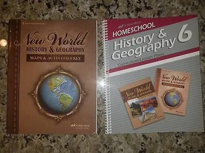 A Beka NEW WORLD HISTORY & GEOGRAPHY 4th Edition / 11 Book / Lesson Plan
