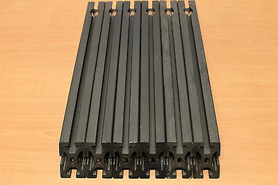 8020 Inc 40mm x 40mm Aluminum Extrusion 40 Series 40-4040 Black Lot AJ (6pcs)