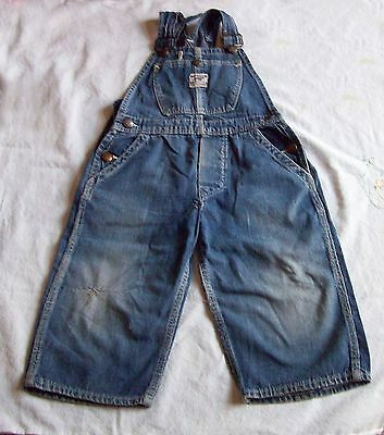 """1940's PRE WAR BOYS BIB OVERALL – J C PENNEYS - """"OX HIDE"""" - BY OWNER"""