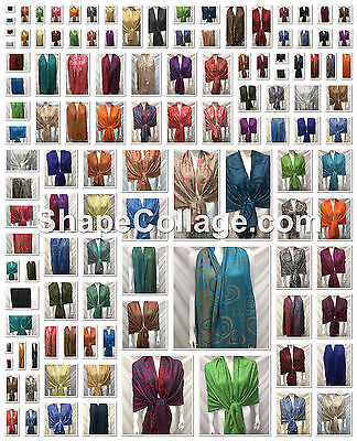 Wholesale 39Pcs $3.25 Each Cirlce Reversible Wear Pashmina Cashmere Scarf Wrap