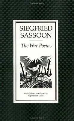 The War Poems-Siegfried Sassoon, 9780571130153