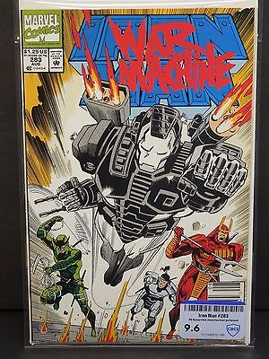 Marvel Comics Iron Man #283 1992 - Cbcs Raw Grade 9.6