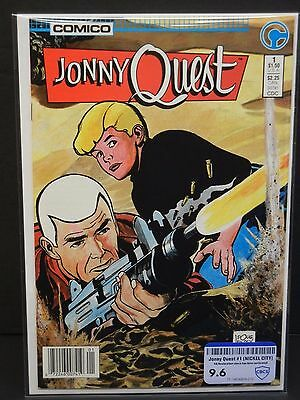 Comico Jonny Quest #1 1986 Cbcs Raw Grade 9.6 Nickel City Collection