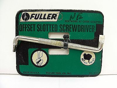 Fuller  NO. 813 OffSet Screwdriver  USA Made NEW OLD STOCK!!   Rare Find / Style