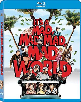 IT'S A MAD MAD MAD MAD WORLD (Blue ray) New, Free shipping