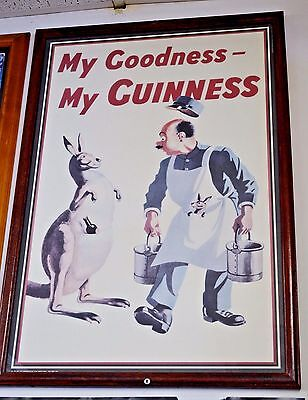 Guinness Beer Framed Poster