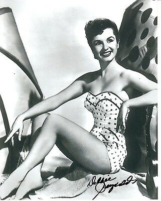 Actress Debbie Reynolds Autographed Early 8x10 Photo!