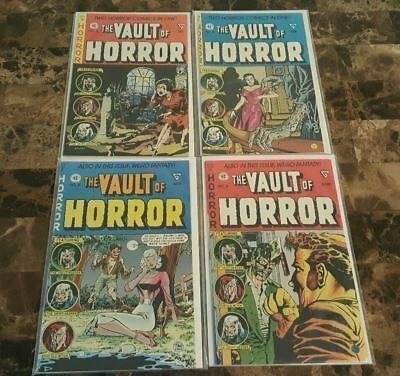 The Vault Of Horror Reprint Lot #3-6 ==> Nm 1991 Gladstone High Grade Lot