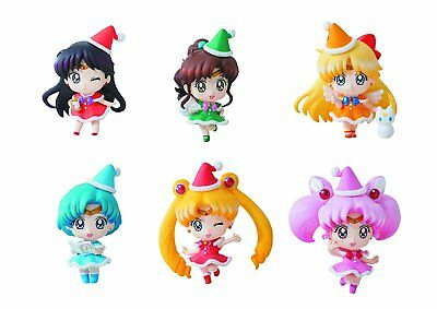 Megahouse Sailor Moon Petit Chara: Sailor Moon Mini Figures Christmas Version