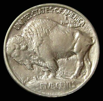 1913 Buffalo Nickel Coin Mint State Condition -Type 1 On Mound