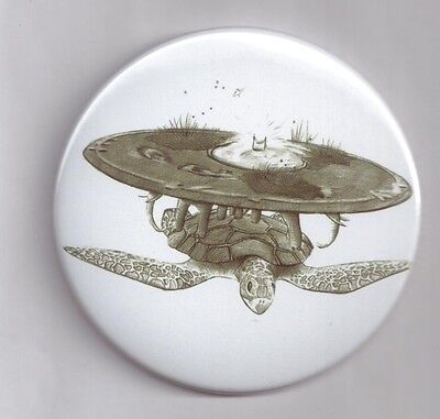 Discworld mirror Turtle Cosmetic makeup compact purse pocket size 78mm mirror
