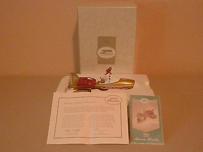 Hallmark Kiddie Car Classic 1958 Murray Atomic Missile; Mib