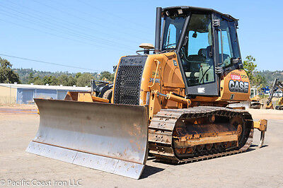2012 Case 750L Lt Crawler Dozer 2700Hrs Cab Heat/ac Pat Blade Ms Ripper Tier 3
