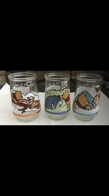 Welchs Jelly Glasses (3) Winnie the Pooh